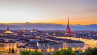 Turin bei Sonnenuntergang