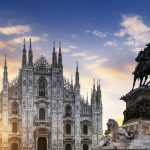 Dom in Mailand in Italien