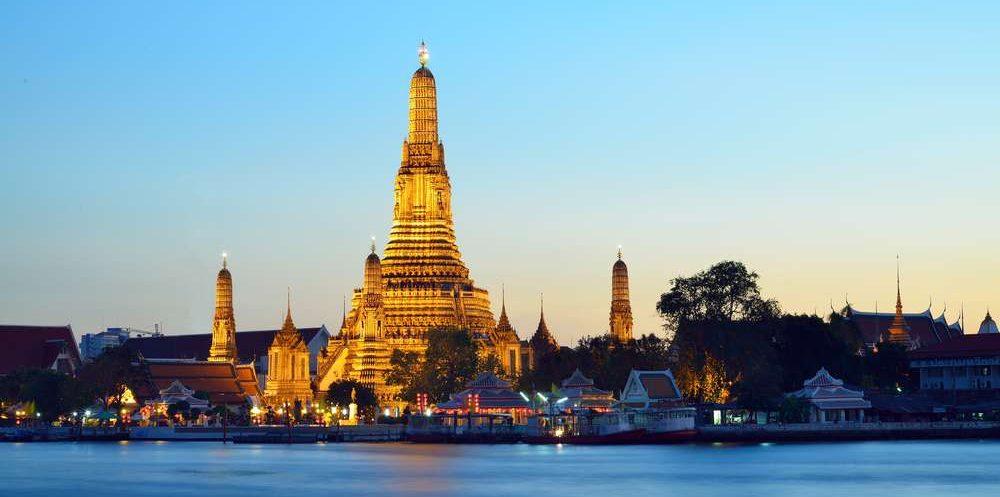 Wat Arun in Bangkok in Thailand