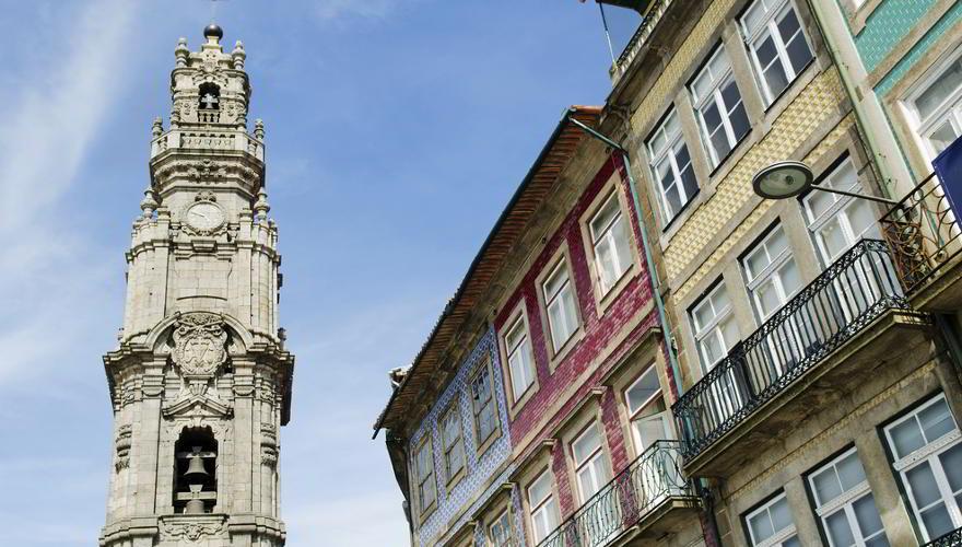 Glockenturm Torre dos Clérigos