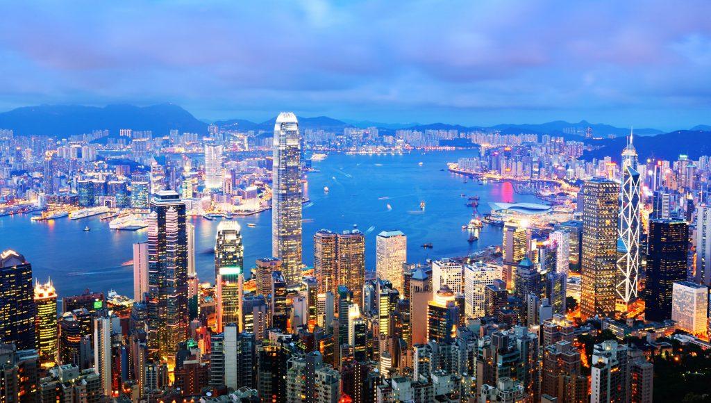 Hongkong-Skyline