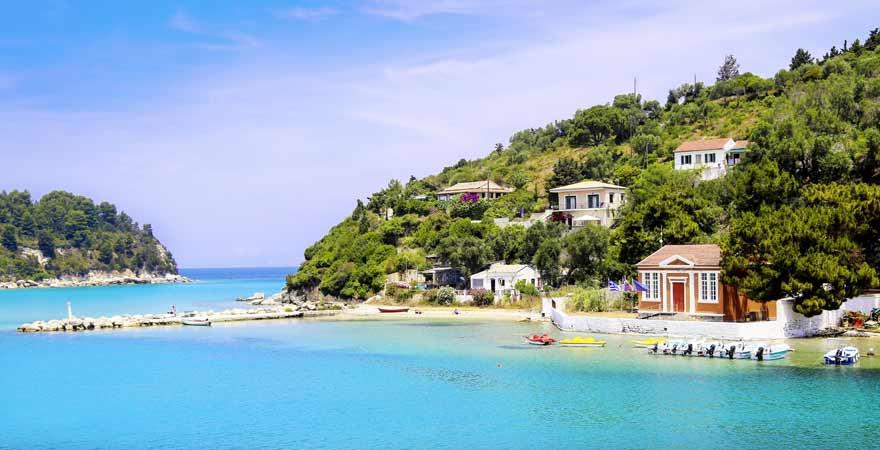 Strand bei Naxos in Griechenland