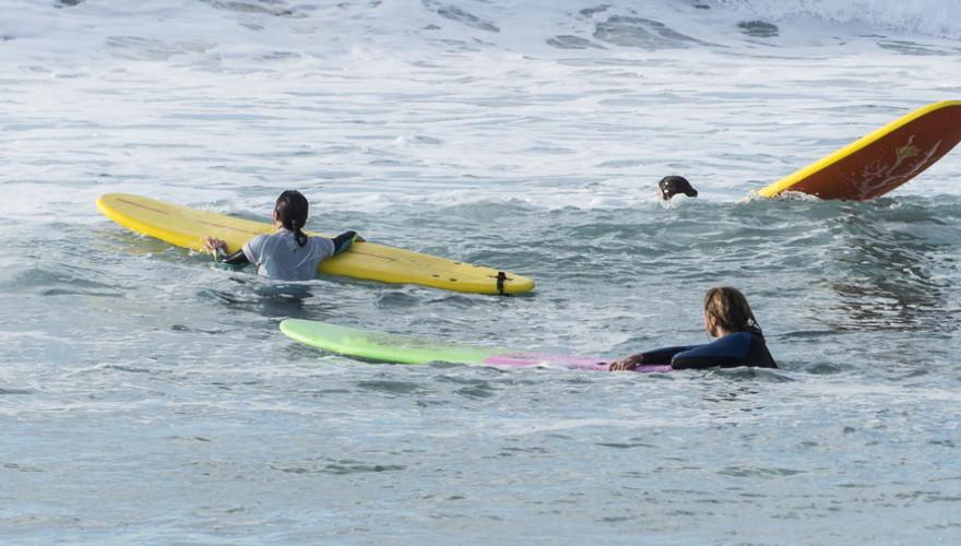 Surfen im Urlaub