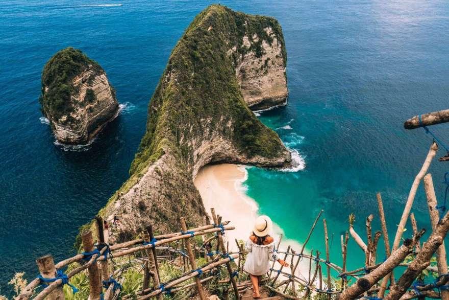 Nusa Penida bei Bali in Indonesien