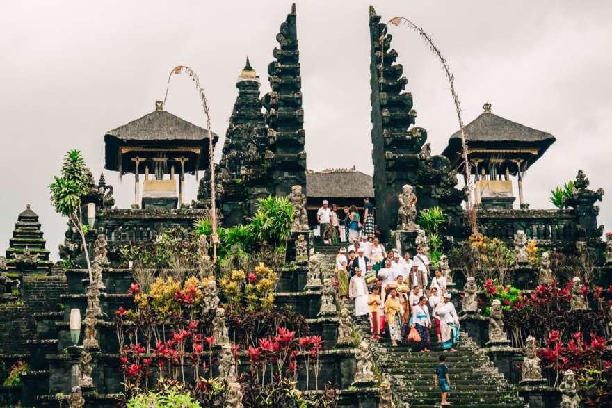 Tempel Pura Besaki auf Bali