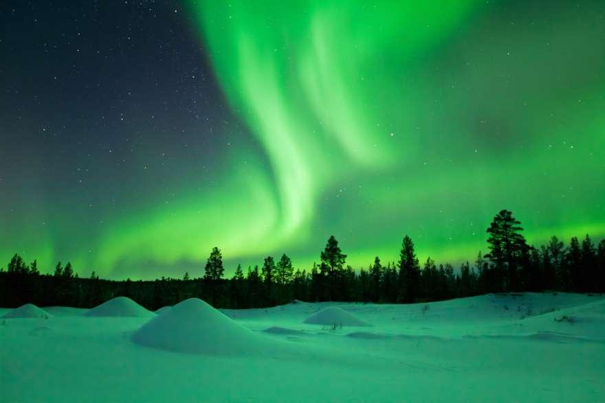 Lappland-Polarlichter