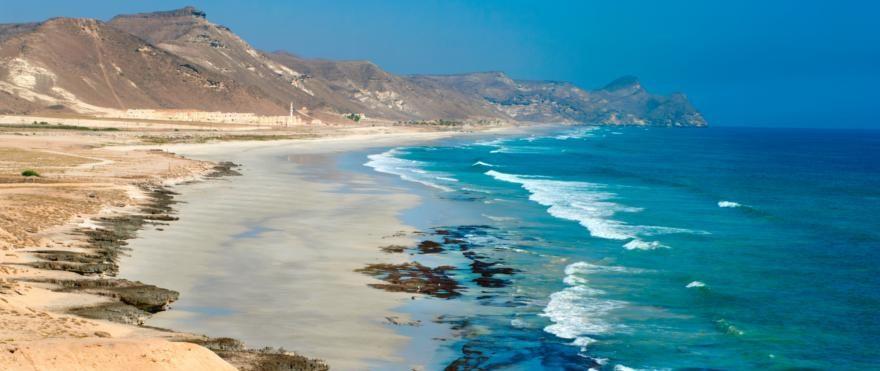 Kueste von Salalah im Oman