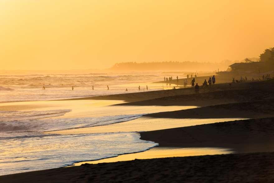 Sonnenuntergang-Kuta-Bali