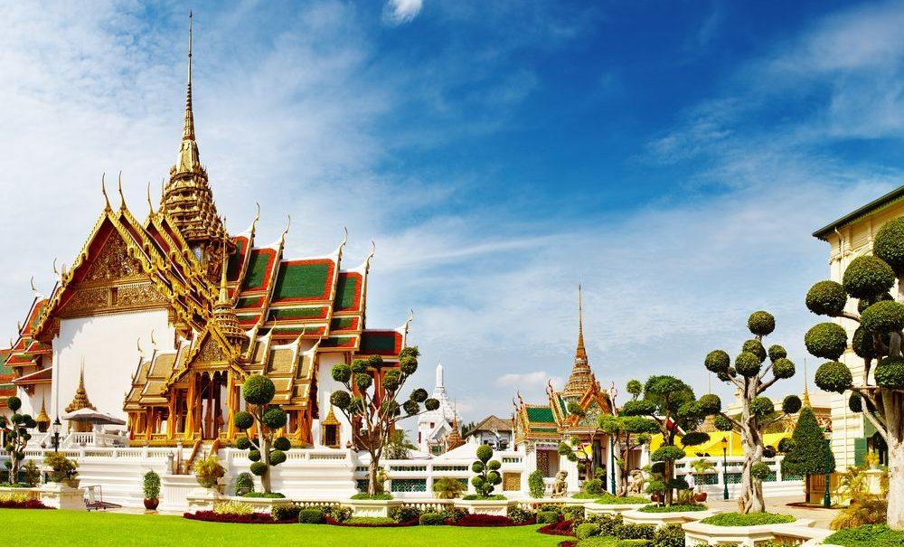 Koenigspalast in Bangkok in Thailand