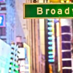 Broadway in New York in den USA