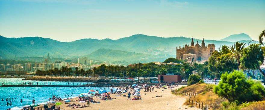 El Arenal auf Mallorca in Spanien