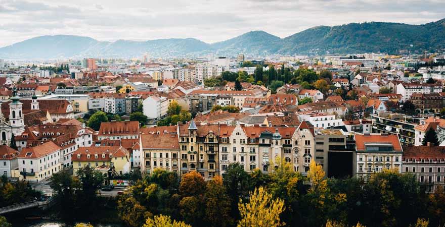 Graz in Österreich