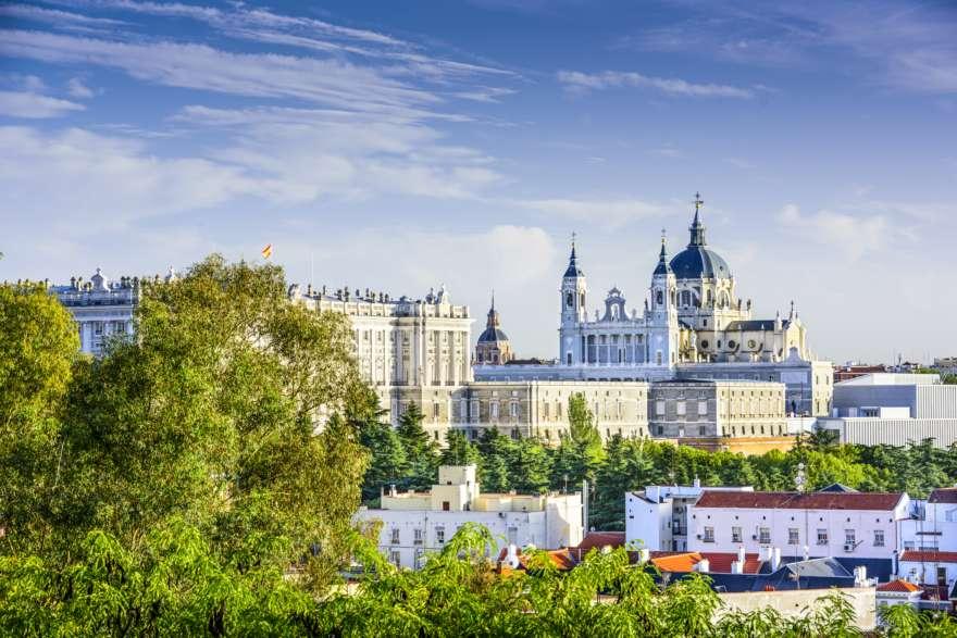 Königspalast-Madrid