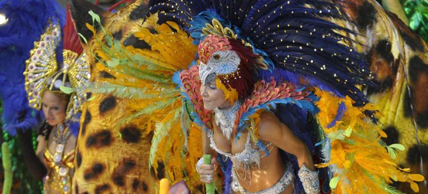 Karneval in Salvador da Bahia.