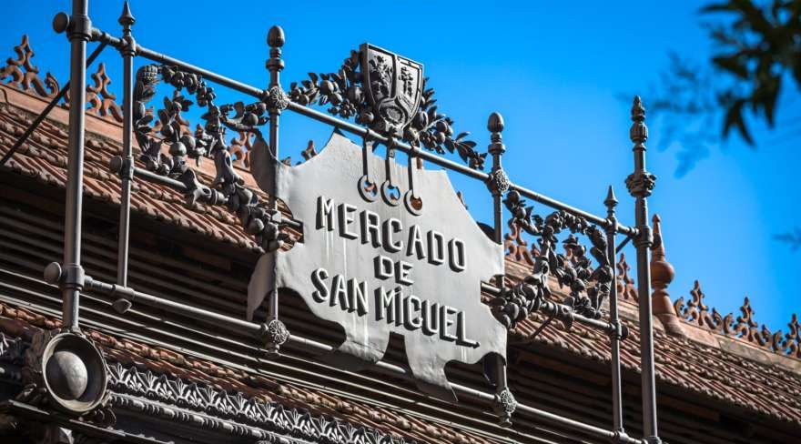 Mercado de San Miguel in Madrid in Spanien