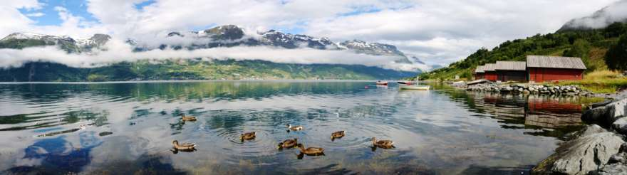 Norwegen-See