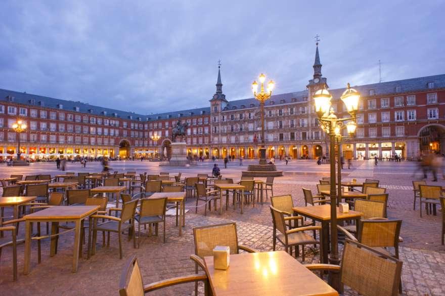 Plaza Mayor-Madrid