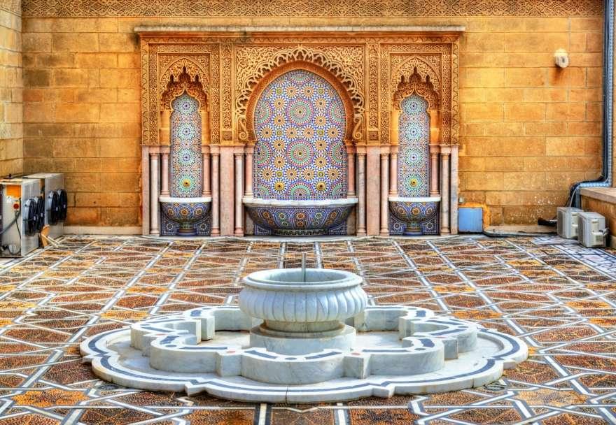 Mausoleum Mohammed V. in Schottland