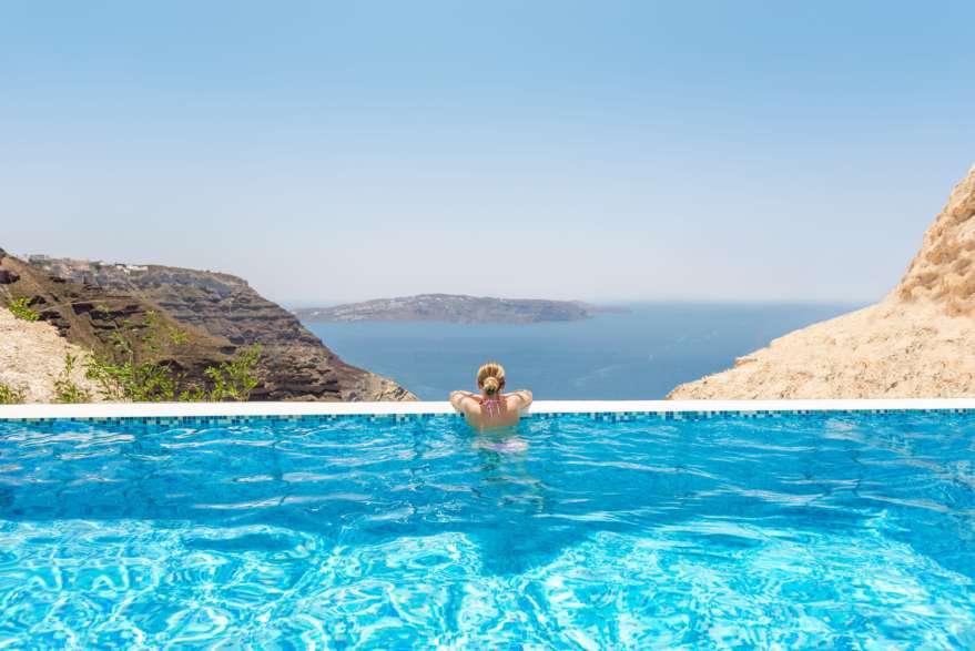 Santorin-Pool