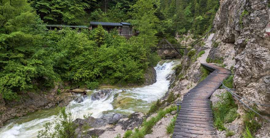 Wanderweg Ötscher Tornäuer in Österreich