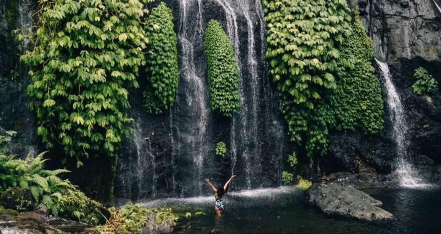 Wasserfall im Norden von Bali