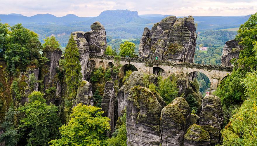 Basteibrücke Sächsische Schweiz