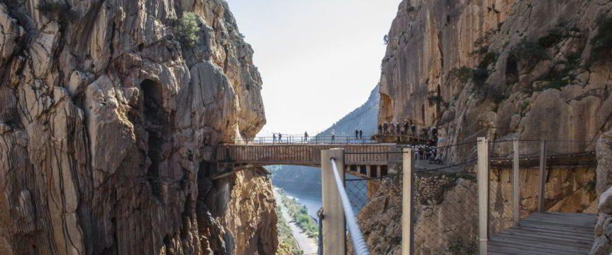 Caminito del Rey Path Malaga in Spanien