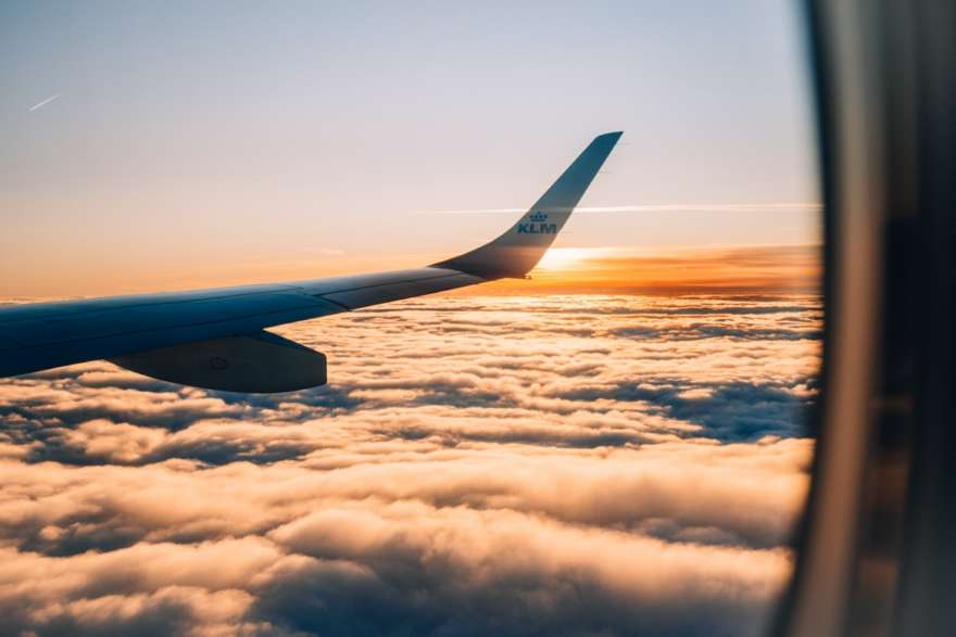 Fernreise-Flugzeug