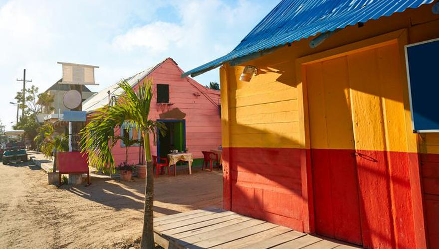 Insel Holbox in Mexiko