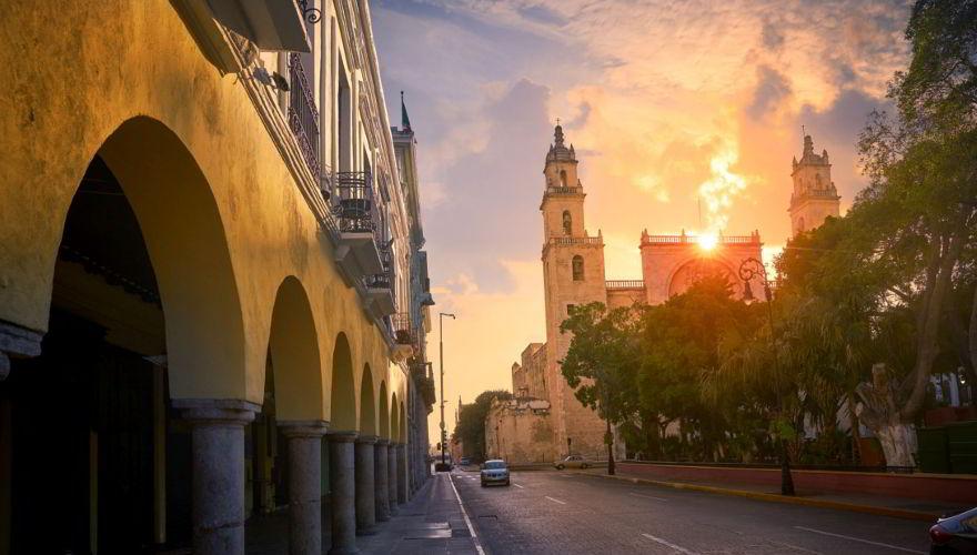 Kathedrale San Idefonso Merida auf Yucatan in Mexiko
