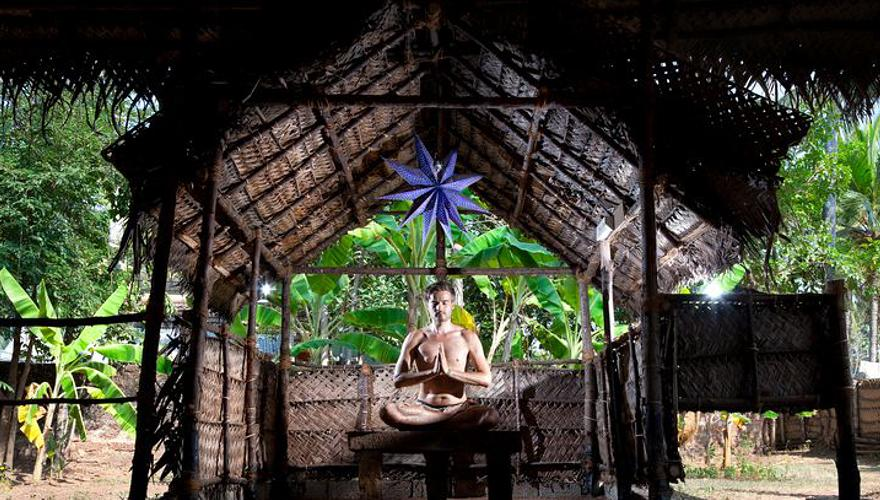 Meditation in Indien