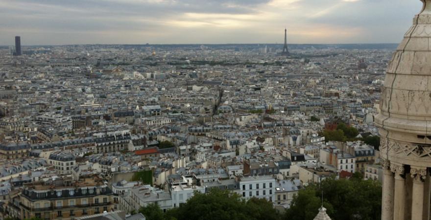 Die Stadt Paris in Frankreich