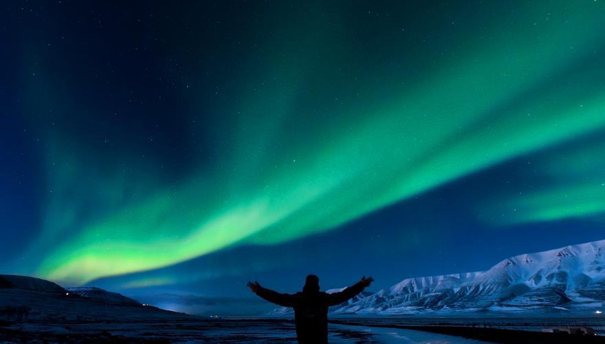 Polarlichter in Norwegen