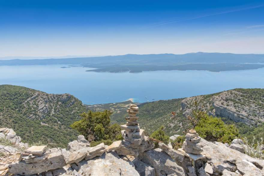 Vidova gora-brac-kroatien