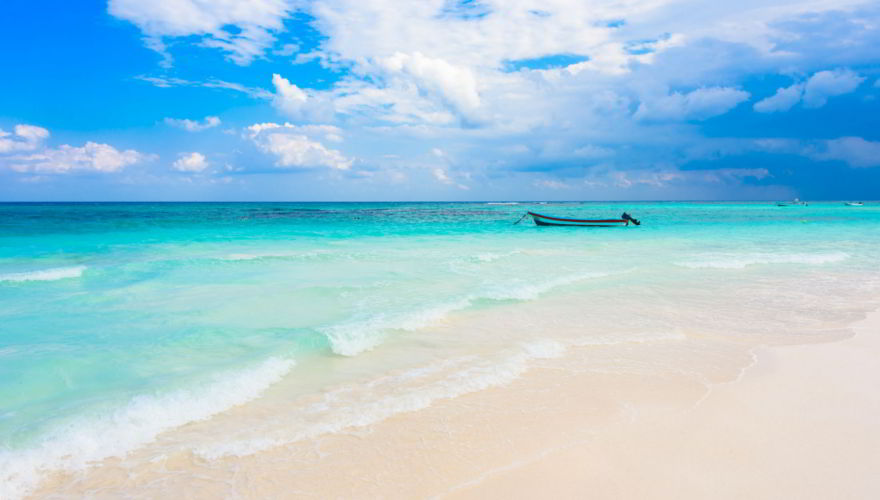 Playa Xpu Ha Strand