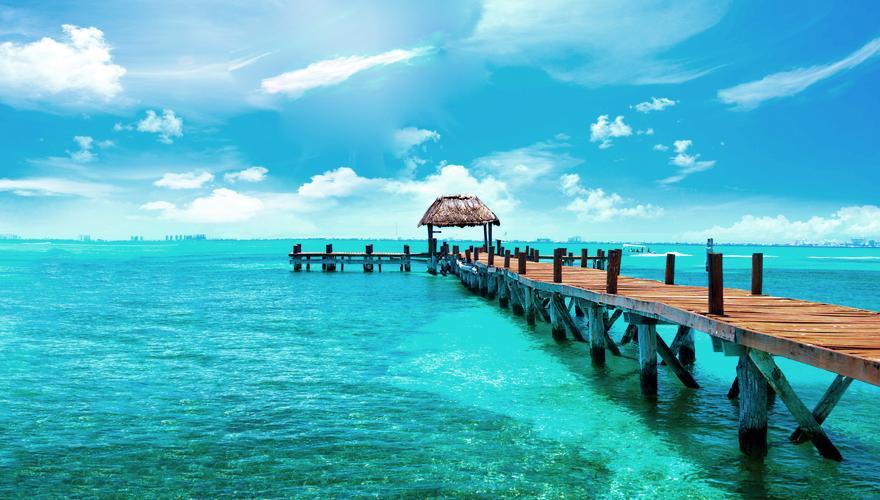 Steg Isla Mujeres Mexico Yucatan