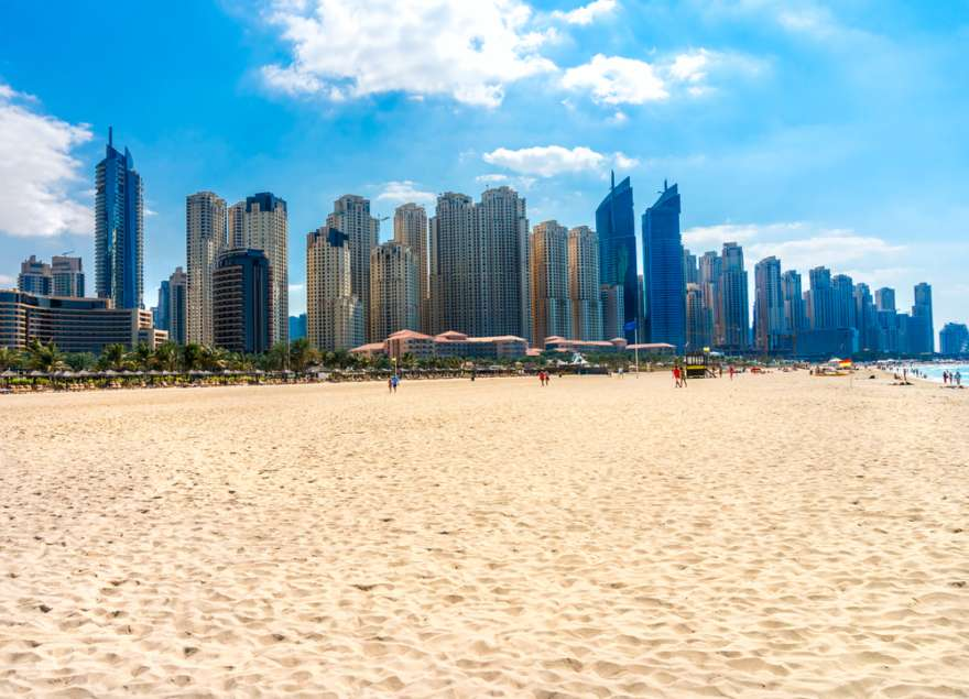 Das Jumeirah Beach in Dubai
