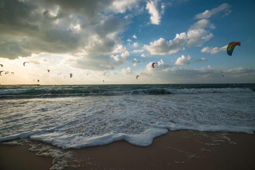 Kite Beach in Dubai