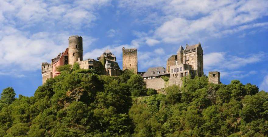 Oberwesel in Rheinland Pfalz in Deutschland