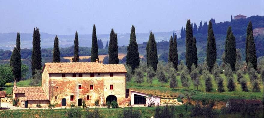 Gutshof in der Toskana