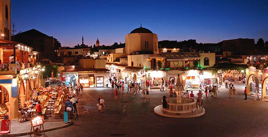 Altstadt in Rhodos