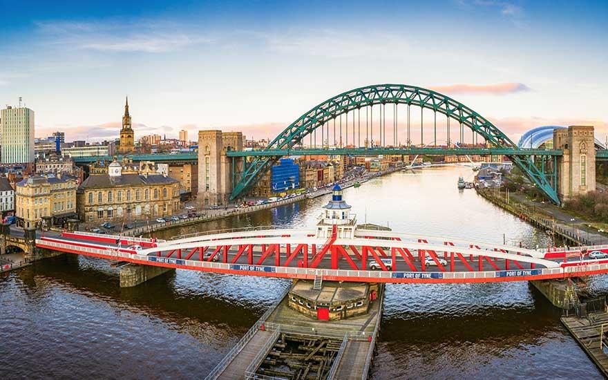 Hafen Newcastle