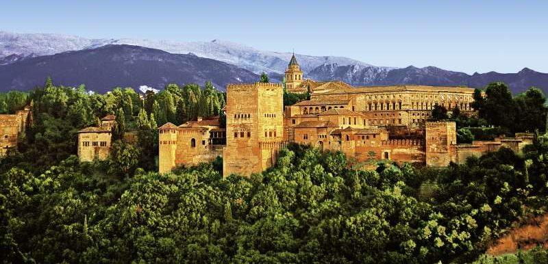 Granada in Andalusien in Spanien