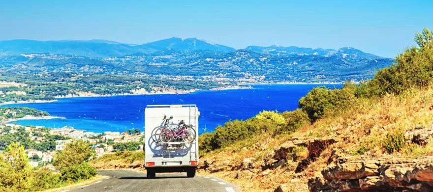 Provence mit dem Fahrrad und Camper
