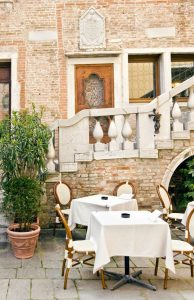 Restaurant in Venedig