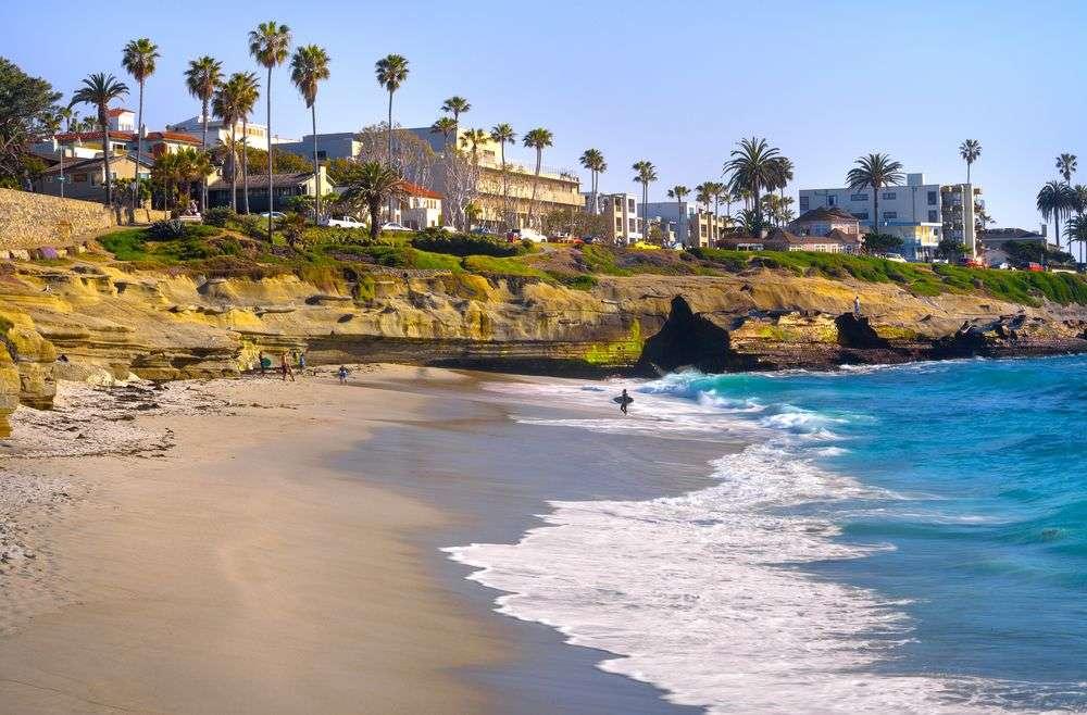 Küste von San Diego
