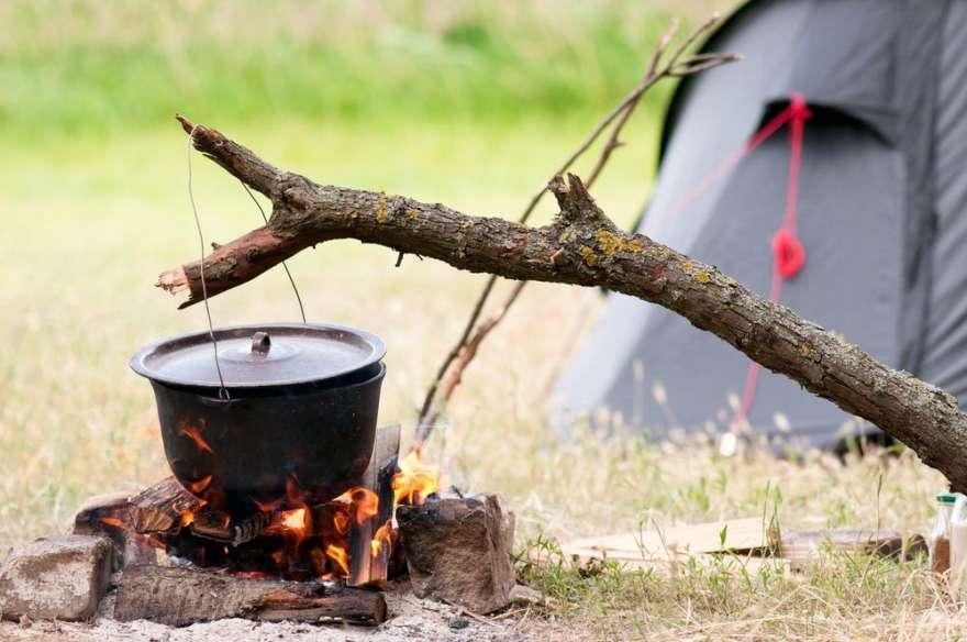 kochen beim Wandern