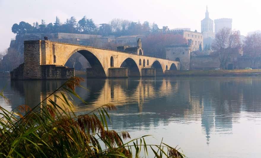 Pont Saint Benezet in Avignon