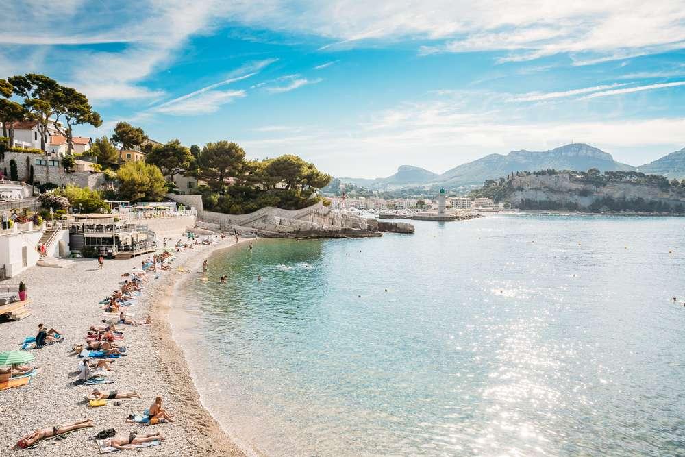 Cassis an der Cote d'Azur