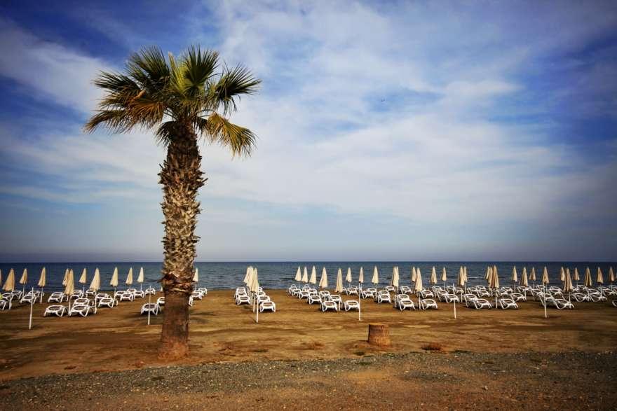 Finikoudes Beach auf Zypern